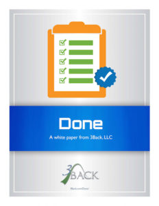 3Back - Done White Paper - Agile Professionalism Cover